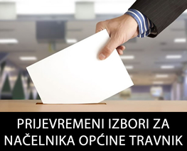 Prijevremeni izbori za načelnika općine Travnik